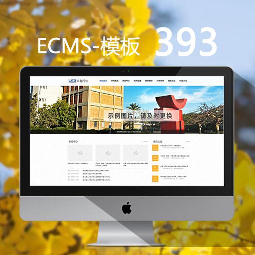 通用中学网站模板